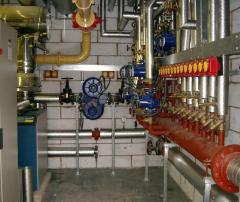 Design of the gas equipmen