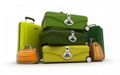 Dry-cleaner of bags, suitcases