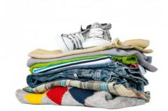 Dry cleaning of products from textiles