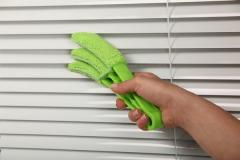 Cleaning of blinds and curtains