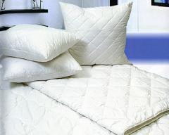 7 landmark cleaning of down pillows with replacement of a bedtick.