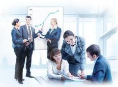 Консультация в области бухгалтерского и налогового