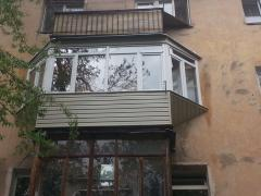 Repair of balconies, expansion of balconies