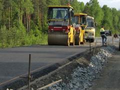 Строительство дорог в Казахстане 2015