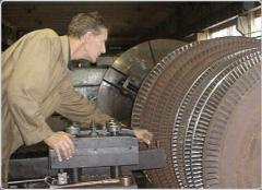 Production of pipe boards of the condenser of the