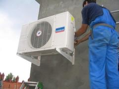 Installation of conditioners qualitatively and