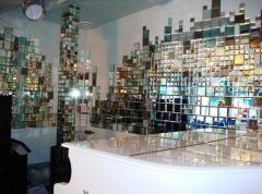 Изготовление зеркальной плитки