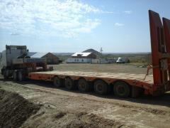 Transportation of a cargo within loading range