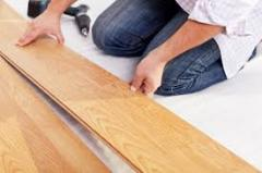 Laying of any floor covering