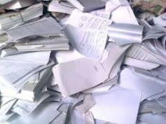 Utilization of archives and waste paper