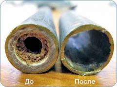 Химическая промывка паровых и водогрейных