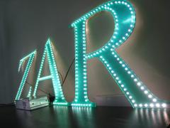 Production of LED letters