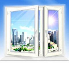 Production of metalplastic windows
