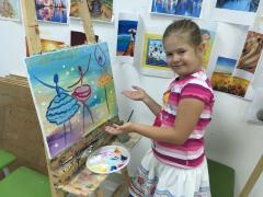 Drawing for children in Astana