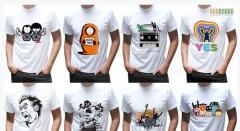 Нанесение изображения на футболки Шымкент