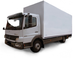 Service in transportation of the equipment loading