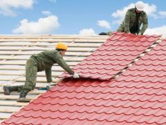 Installation and repair of a roof