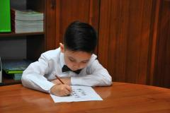 Mathematical school for first graders