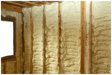 Thermal insulation (warming) of walls polyurethane