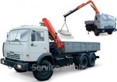 Repair of cranes manipulators