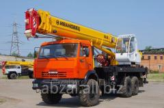 Rental of construction machinery and equipment