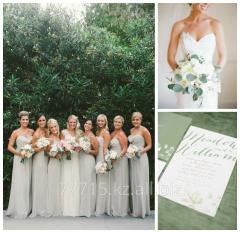 Платья подружкам невесты