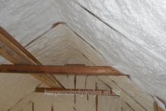 Теплоизоляция крыши пенеополиуретаном (ППУ)