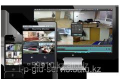Настройка системы видеонаблюдения.