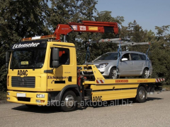 Services of the tow truck