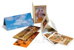 Цифровая печать на открытках