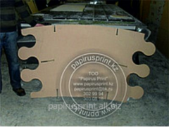 Milling open MDF, a chipboard, LDSP, Alyukobond,
