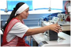 Услуги обучению швейному искусству