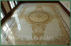 Repair of stone floors