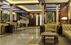 Development of the best interiors for private