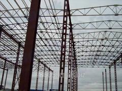 Диагностика арочных конструкций каркасов зданий