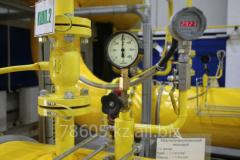 Diagnostics of block gas control points