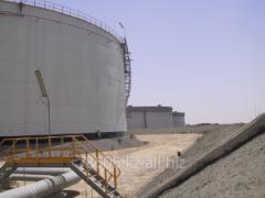 Diagnostics of designs of tanks from ferrous