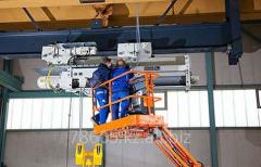 Diagnostics of designs brake for subcrane beams