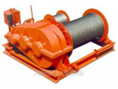 Diagnostics of the winch for lifting of loads