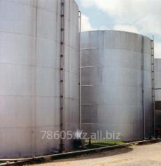 Diagnostics of tanks for oil