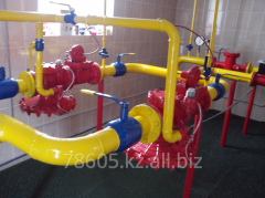 Diagnostics of system of gas supply