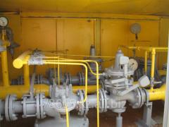 Diagnostics of cupboard gas control points