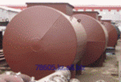 Inspection of designs of tanks from ferrous metals