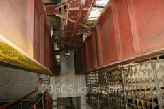 Inspection of designs brake for subcrane beams