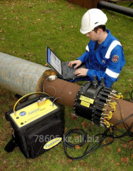 Inspection of outside gas pipelines of settlements