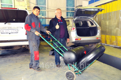 Service of the automobile gas cylinder equipmen