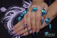 Gel nail extension