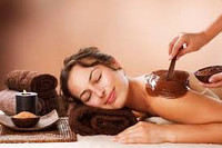 Courses of chocolate massage