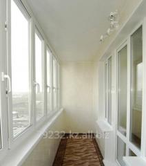 Утепление и отделка лоджий.балконов