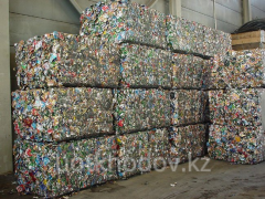Destruction and utilization of metalwaste